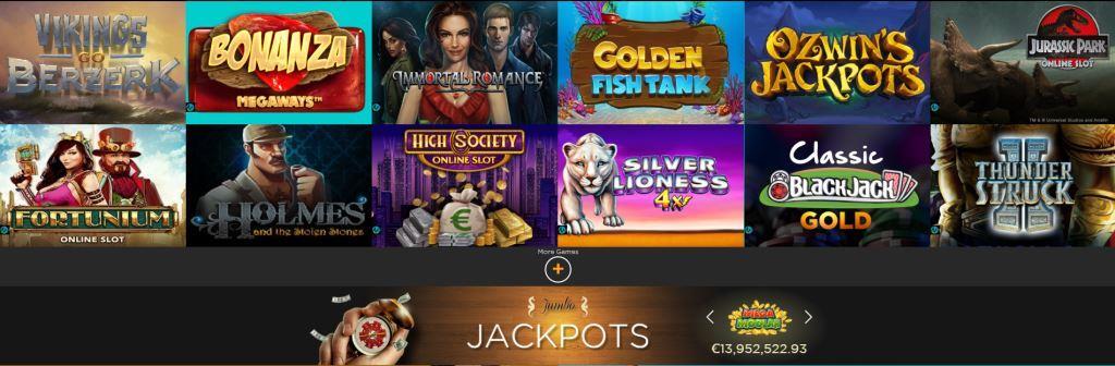 Cruise Casino screenshot