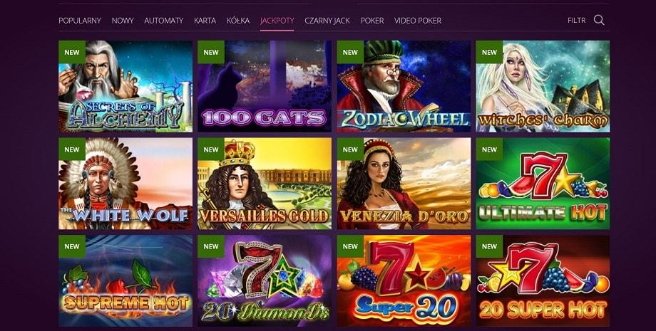 jackpoty malina casino