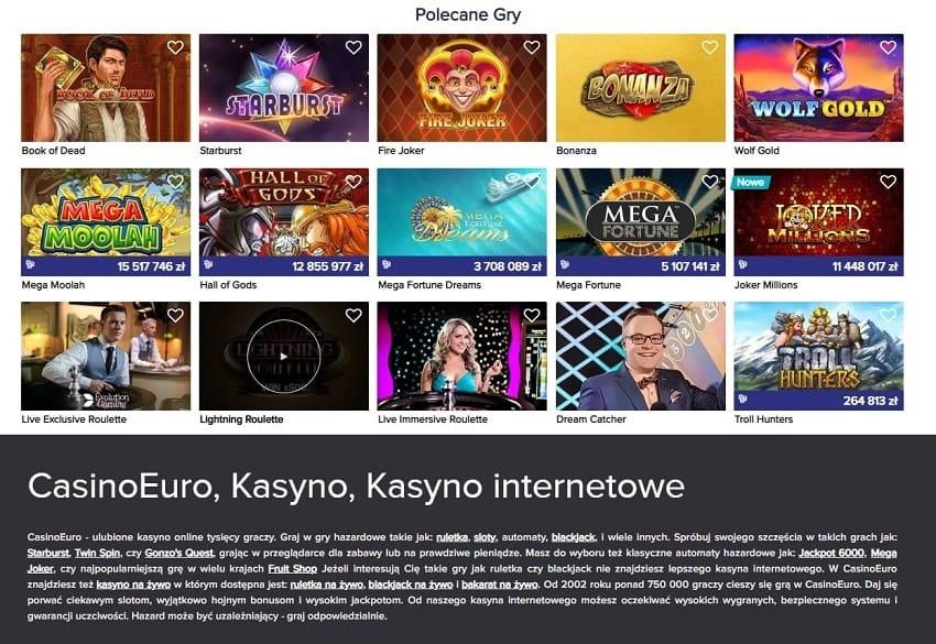 Casino euro Home page 2