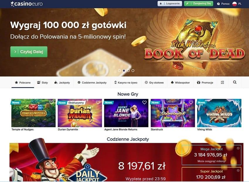 Casino euro Home page