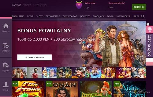 nowości z kasyna online