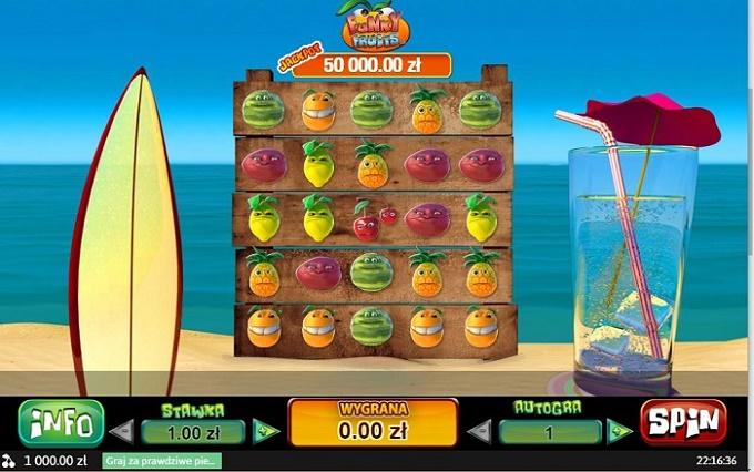 gry hazardowe online Funky Fruits
