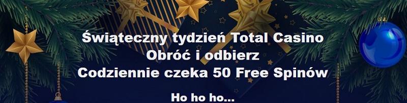 Świąteczne polskie kasyno Total Casino
