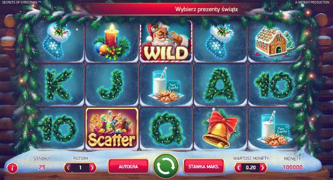 Świąteczne sloty online Secrets of Christmas