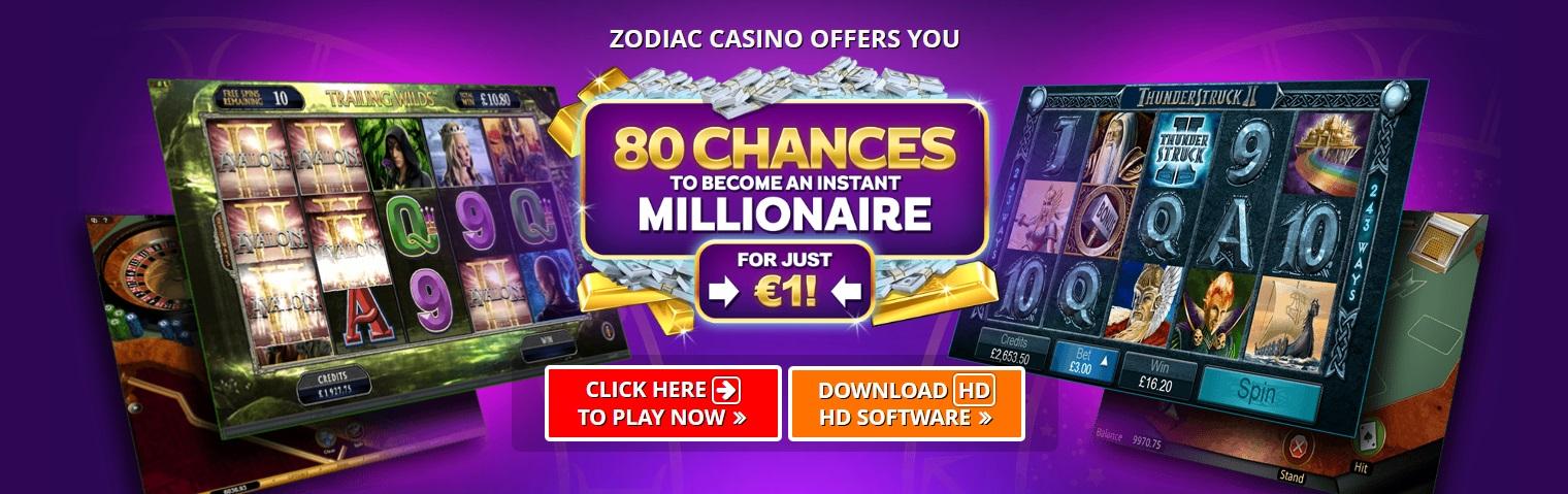 zodiac casino bonus 2