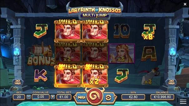 Labirynth of Knossos Multijump news item 2