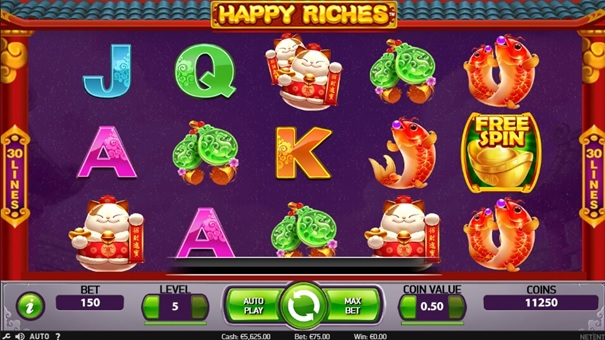 Happy Riches, czyli automat news item 2