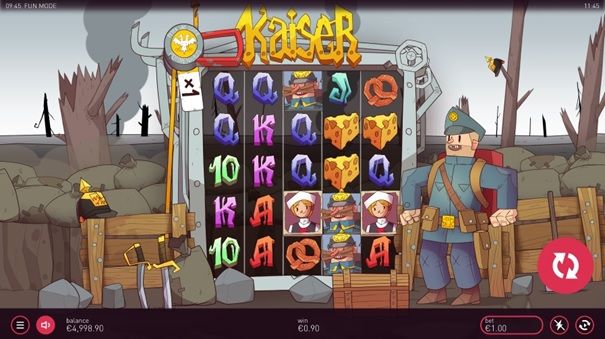 Kaiser – oryginalny slot od nie news item 2